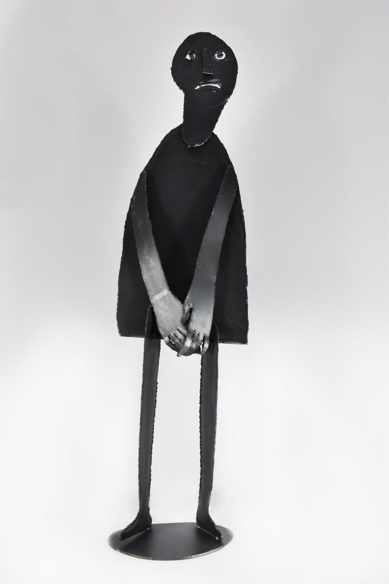 Human 等待的人 NO Sooncheon 盧淳天 (South Korea, 1981-) Steel 鐵 103 x 27 x 16 cm 2016