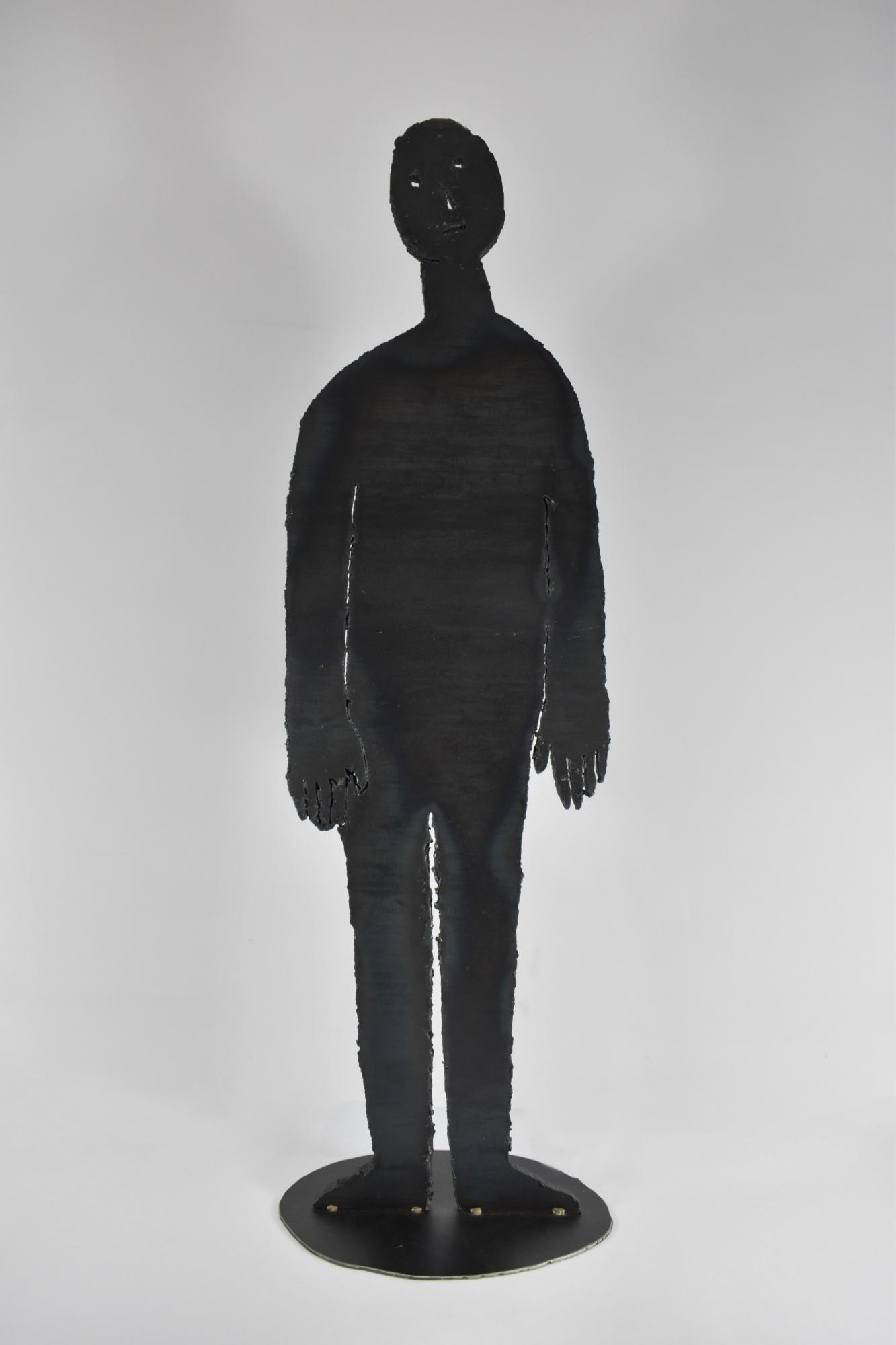 Human 凡人(L) NO Sooncheon 盧淳天 (South Korea, 1981-) Steel 鐵 91.5 x 26.5 x 1.5 cm 2015
