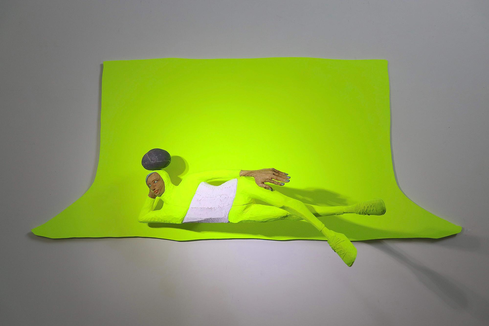 雲清藝術(Elsa Gallery)阿部乳坊《色彩嵌空:涅槃Chroma Key Sculpture: Nirvana》