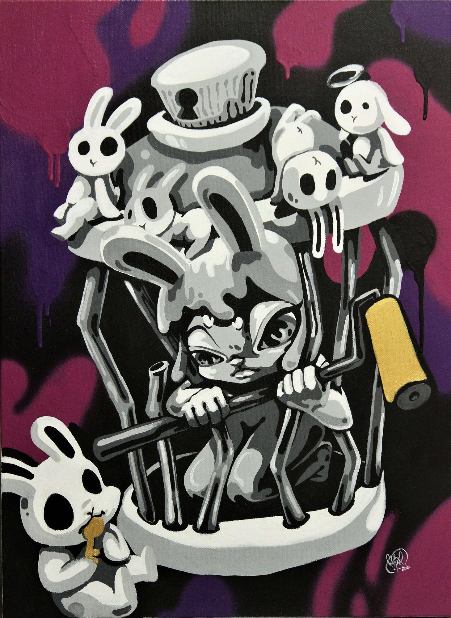 德鴻畫廊(Der-Horng Art Gallery)夢裡那兔《鎖匠(Blacksmith)》