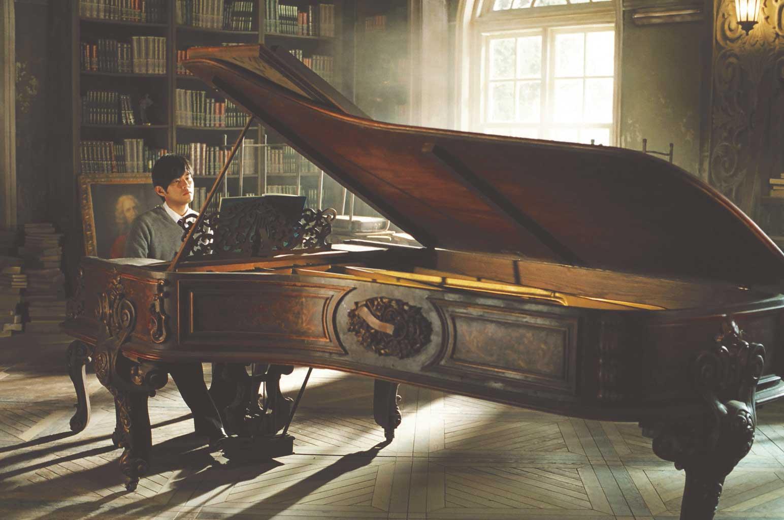 周杰倫自導自演電影《不能說的秘密》(2007年)中 亮相的經典古董鋼琴。圖片提供:@JVR Music