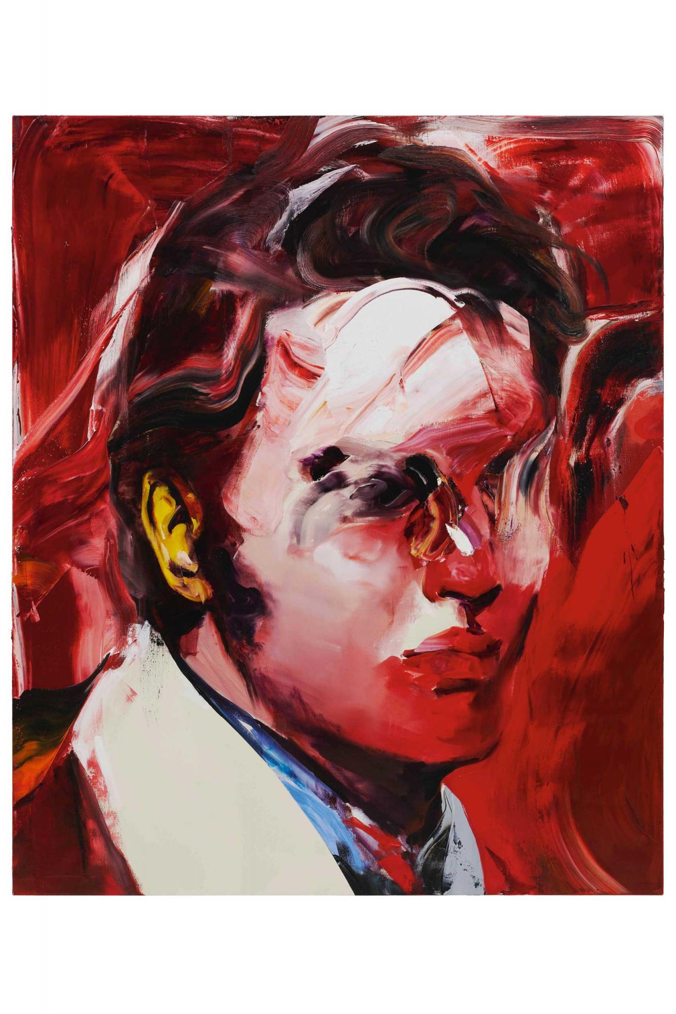 井田幸昌 《搖滾之王》 2021年作,油畫畫布, 194 x 162 公分 估價:500,000 - 800,000港元