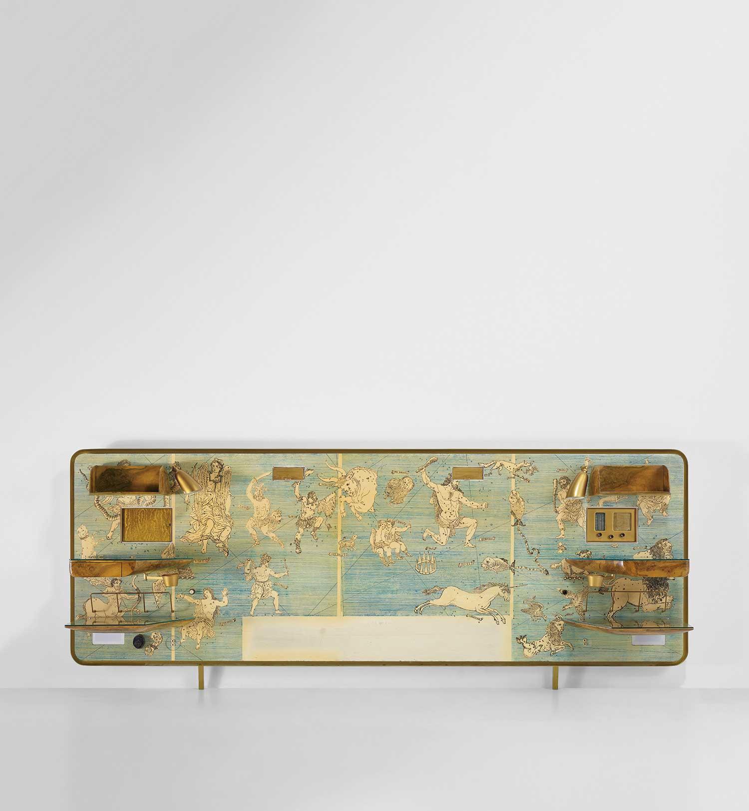 Gio-Ponti-and-Piero-Fornasetti_Rare-illuminated-headboard,-circa-1952.jpg