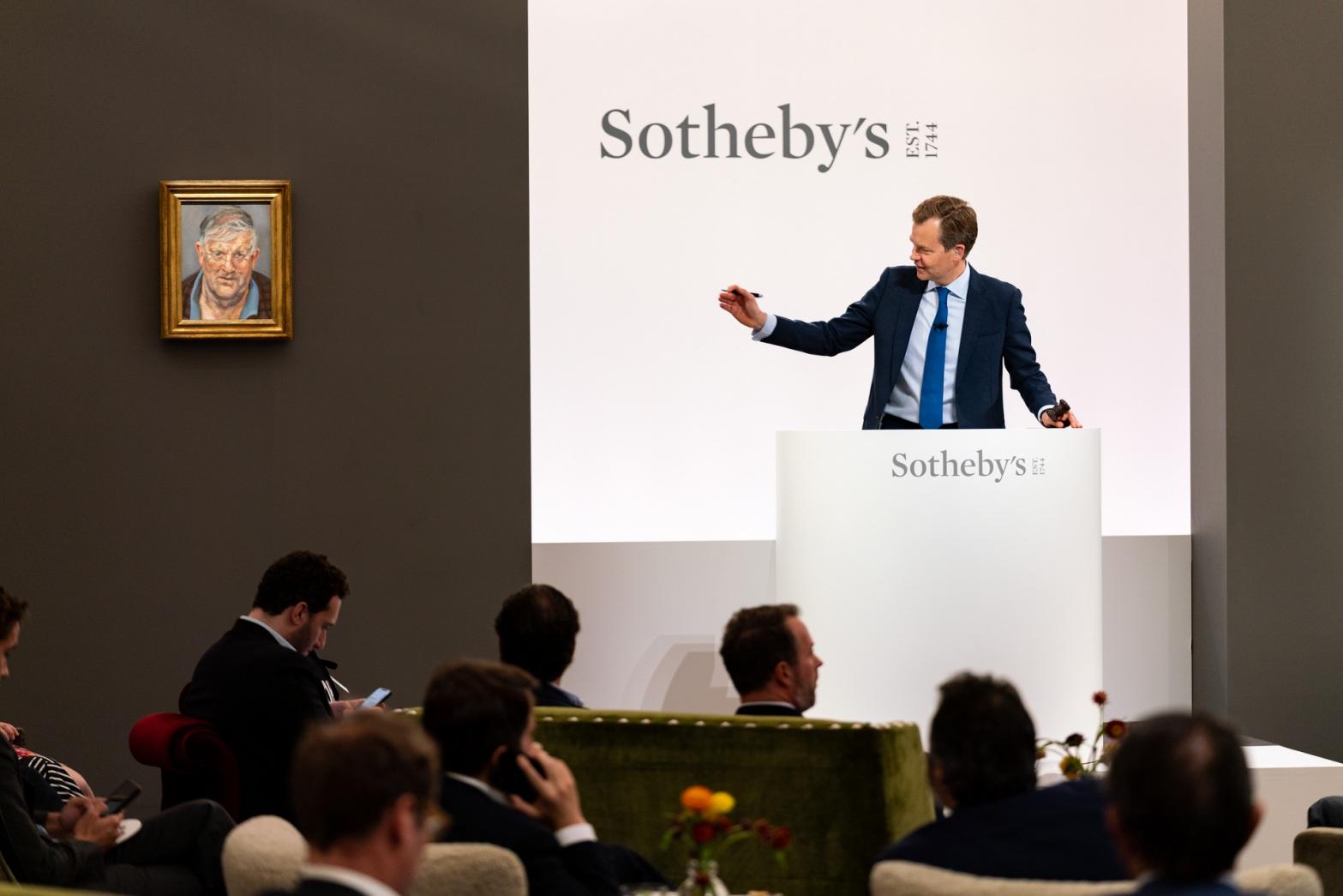 Oliver Barker Chairman, Sotheby's Europe, taking the British Art Evening Sale, Modern _ Contemporary, June 29 2021.jpg