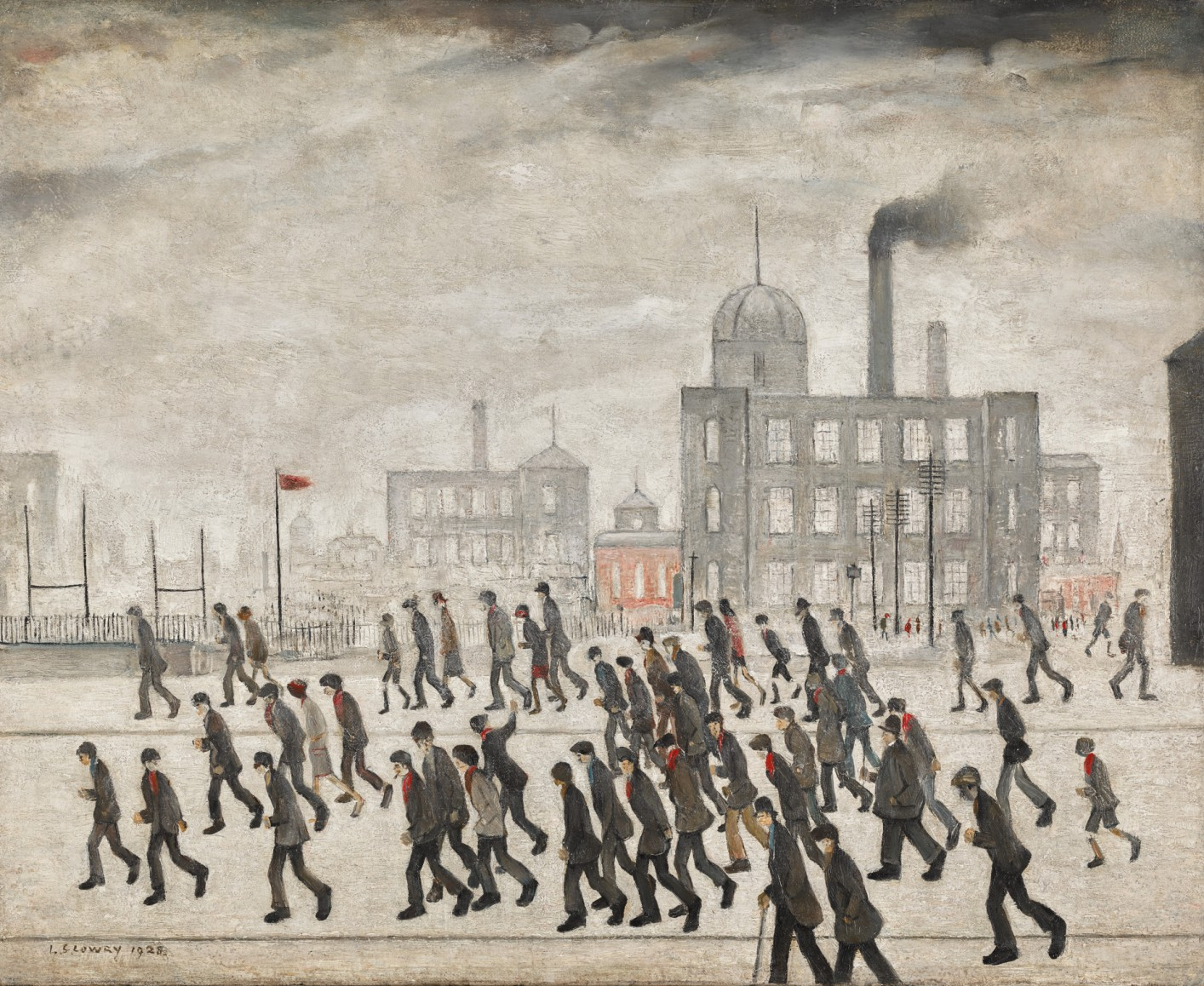 Lot 13- L_S_ Lowry, Going to the Match, 1928, oil on canvas 17 by 21in_ (est_ £2,000,000-3,000,000).jpg