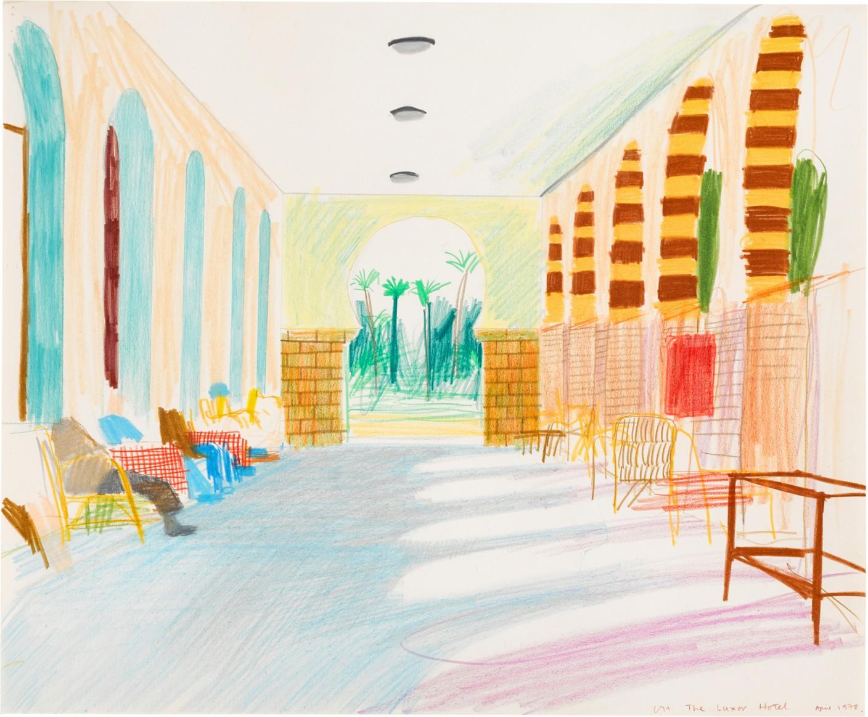 Lot 3- David Hockney, The Luxor Hotel, 1978, est_ 150,000- 200,000.jpg