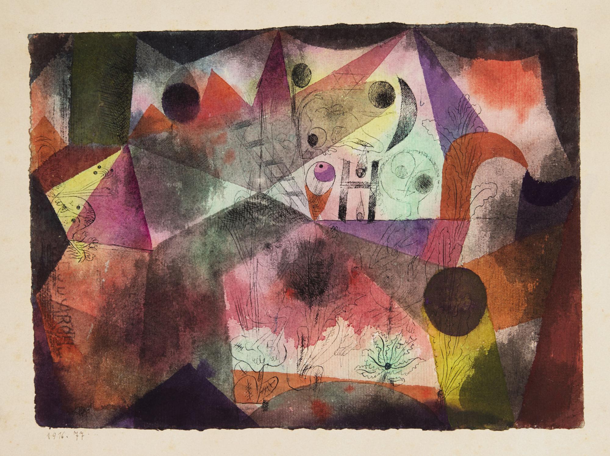 Lot-103,-Paul-Klee,-Mit-dem-H-(With-the-H),-est.jpg