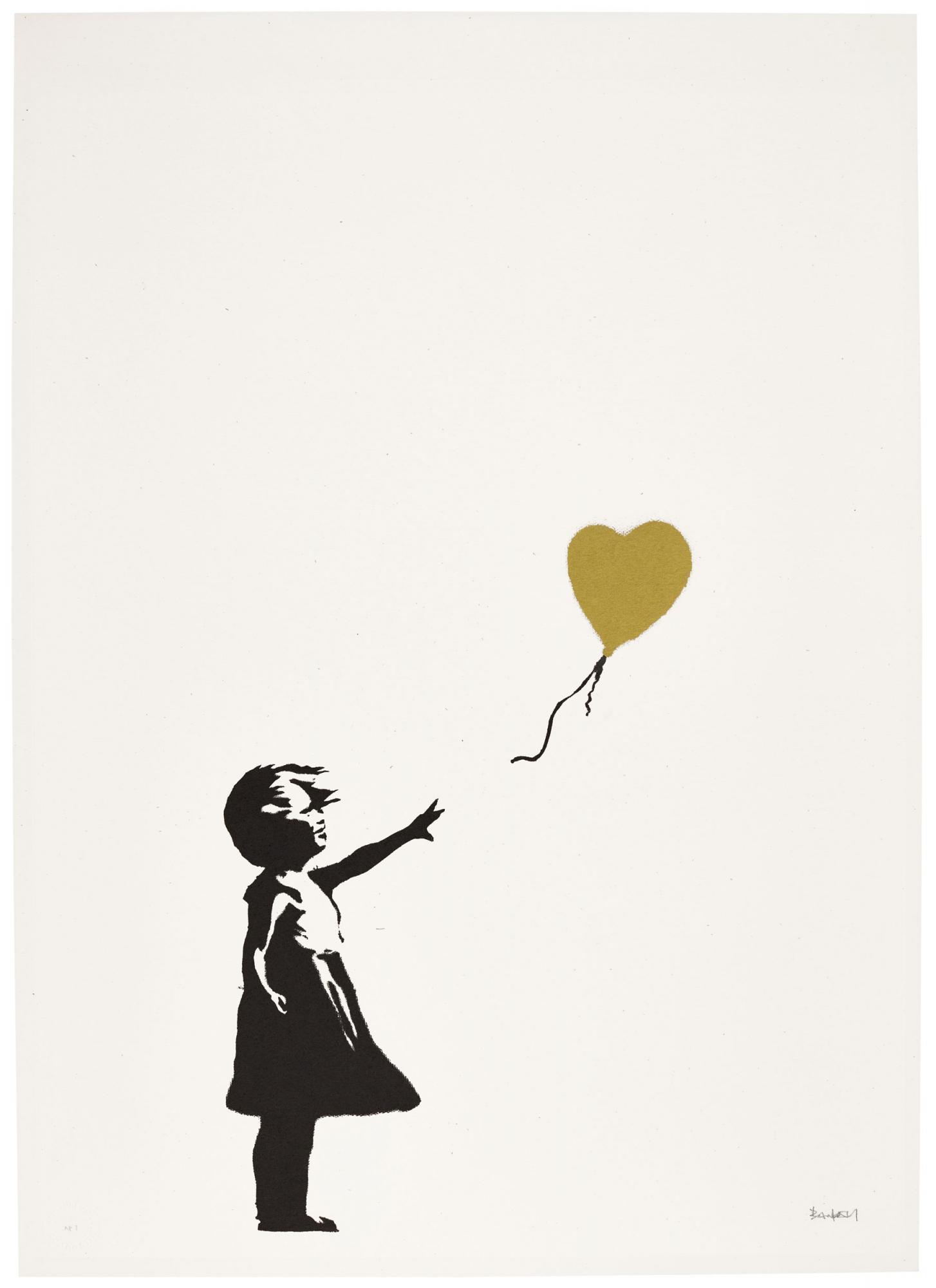 Lot-133,-Banksy,-Girl-with-Balloon---Colour-AP-(Gold),-est.jpg