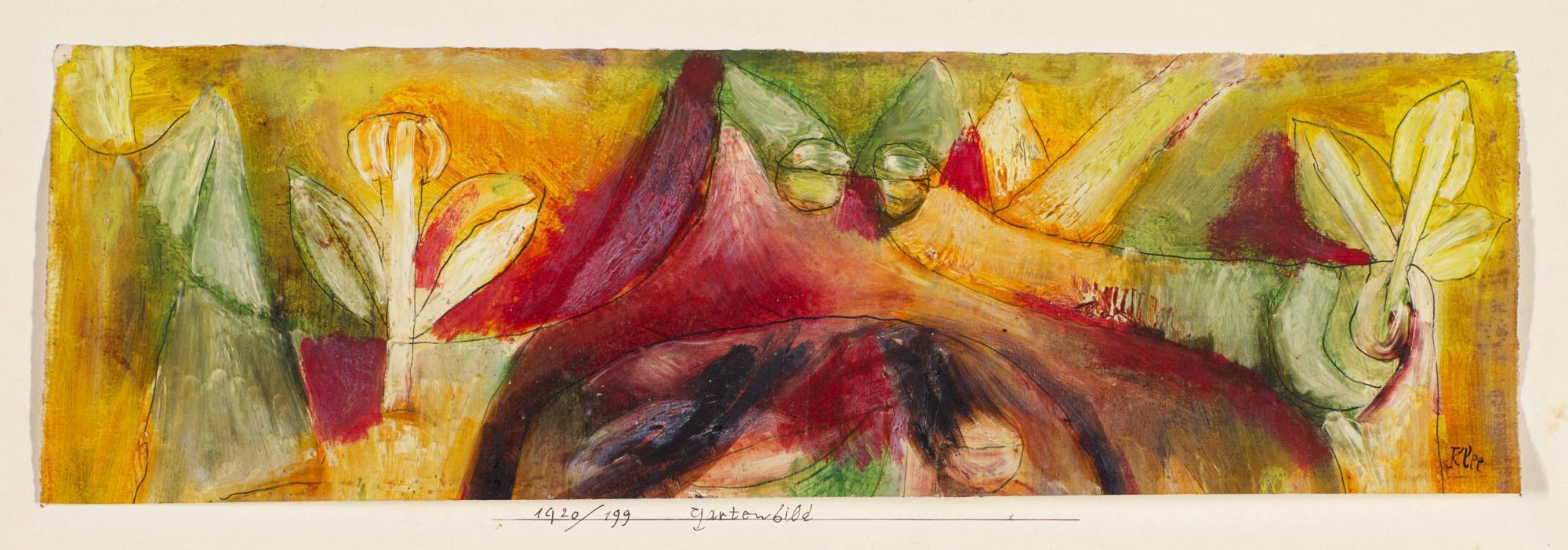 Lot-145,-Paul-Klee,-Gartenbild-(Picture-of-a-Garden),-est.jpg