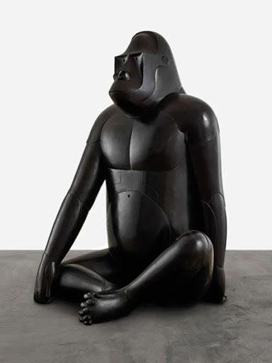弗朗索瓦 · 沙維爾 · 萊蘭 (François-Xavier Lalanne) 《保安猩猩I》 1970年設計,1984 年鑄造 青銅 153 x 98 x 89 公分
