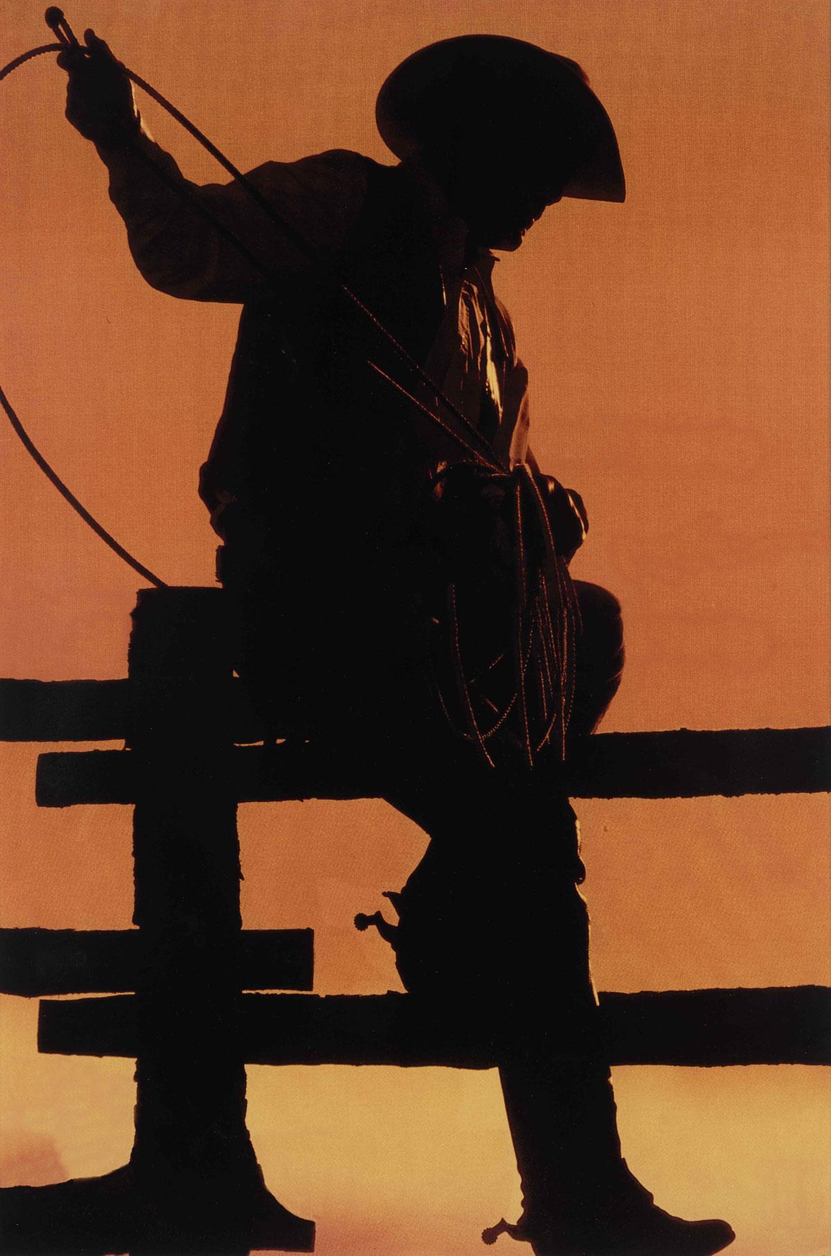 理查・普林斯(Richard Prince)《無題(牛仔)》 2001年作,顯色彩印相片,59.1 x 39.4公分