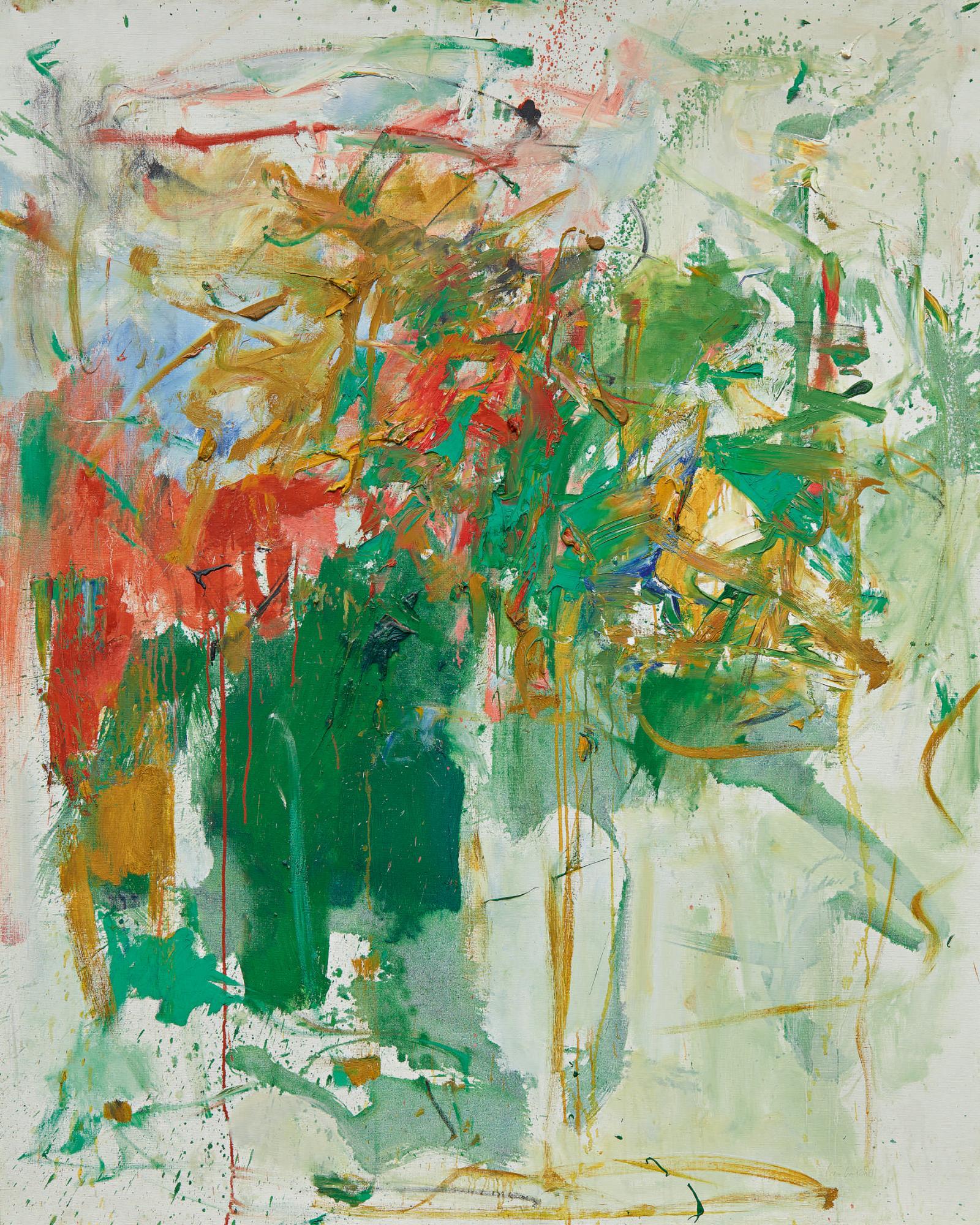 瓊・米切爾(Joan Mitchell), 《花園派對(Garden Party)》,1961-62。