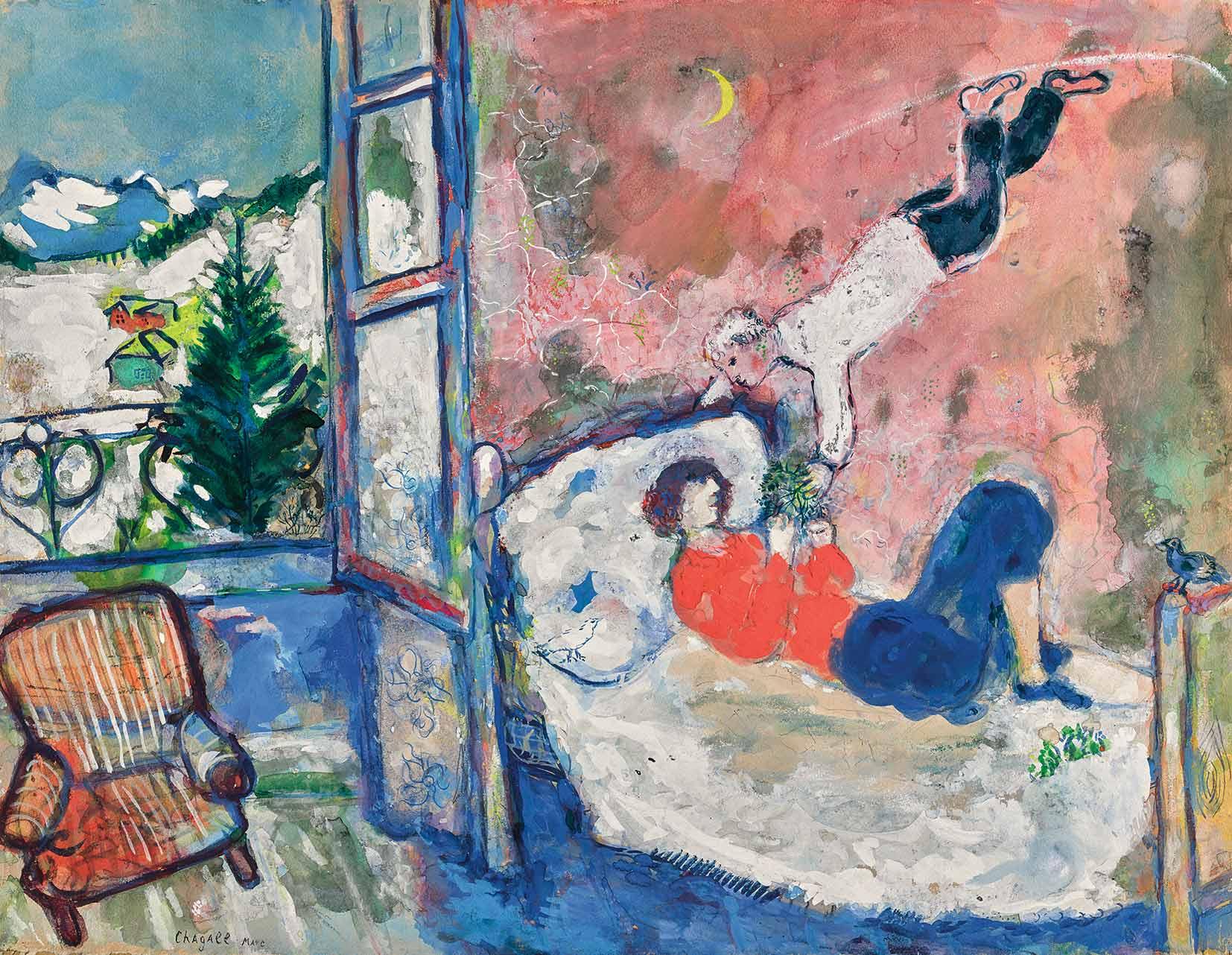 Lot-2-Marc-Chagall-La-branche-de-gui-or-Le-rve-est.jpg