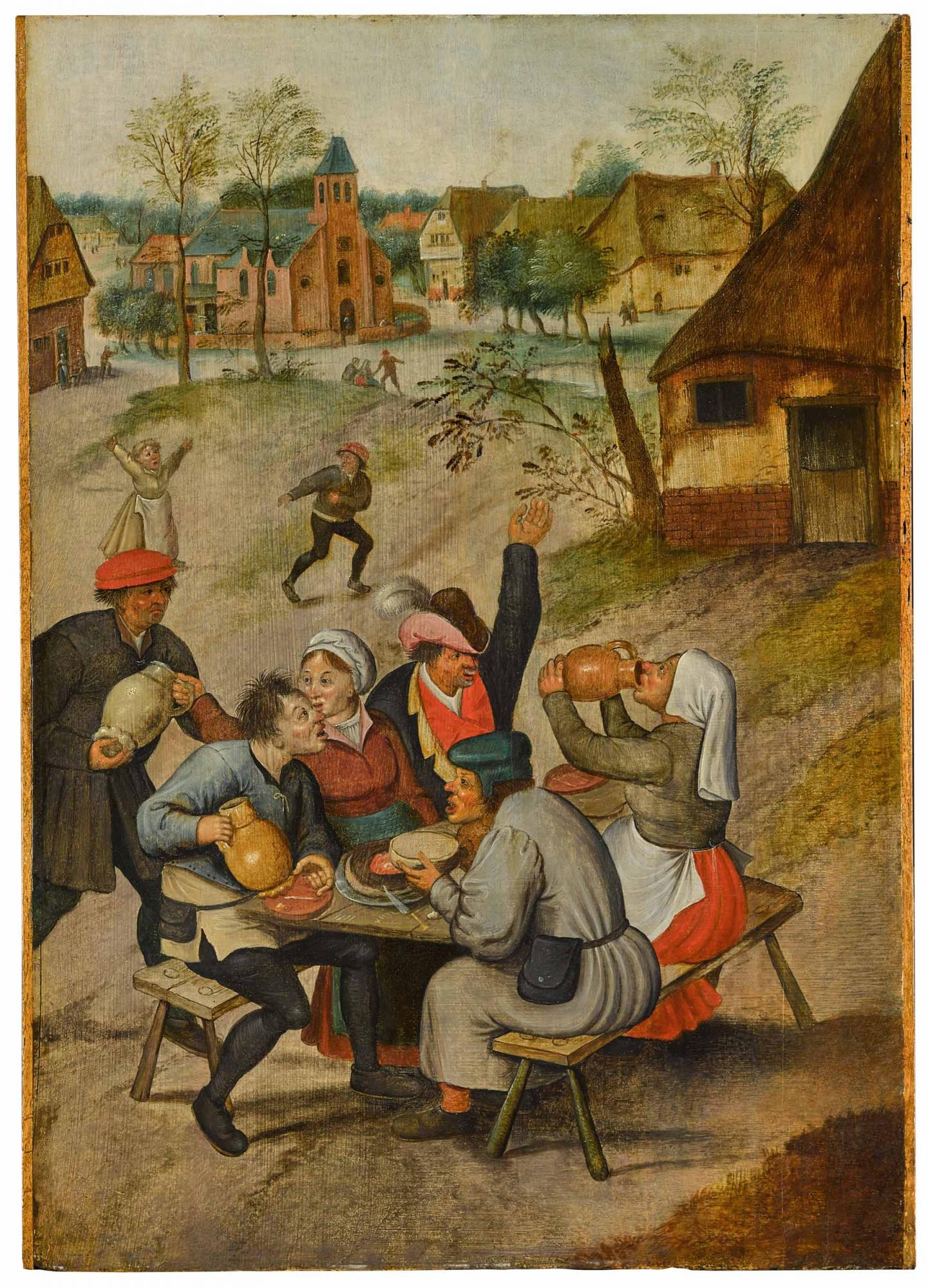Lot-25-Pieter-Brueghel-the-Younger-A-Village-Scene-with-Peasants-Carousing.jpg