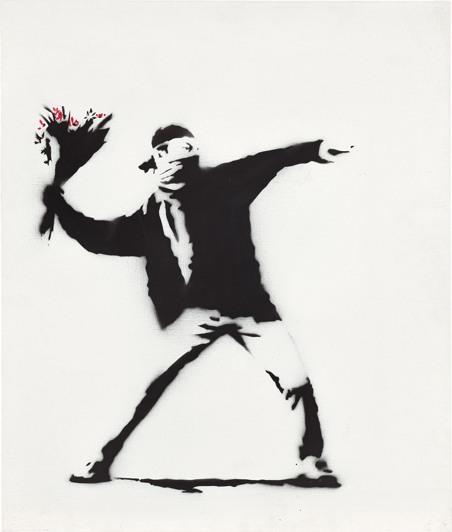 Banksy, Love Is In The Air.jpg