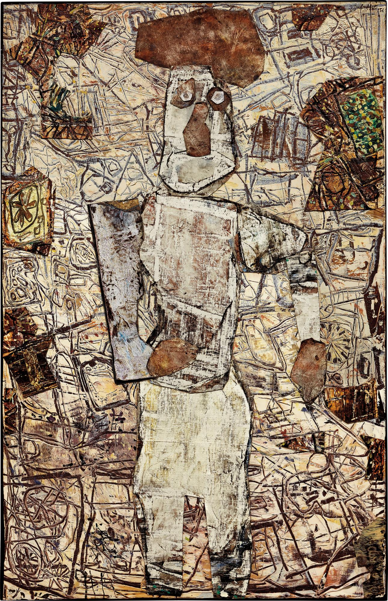 Jean Dubuffet, L'homme à la toque.jpg