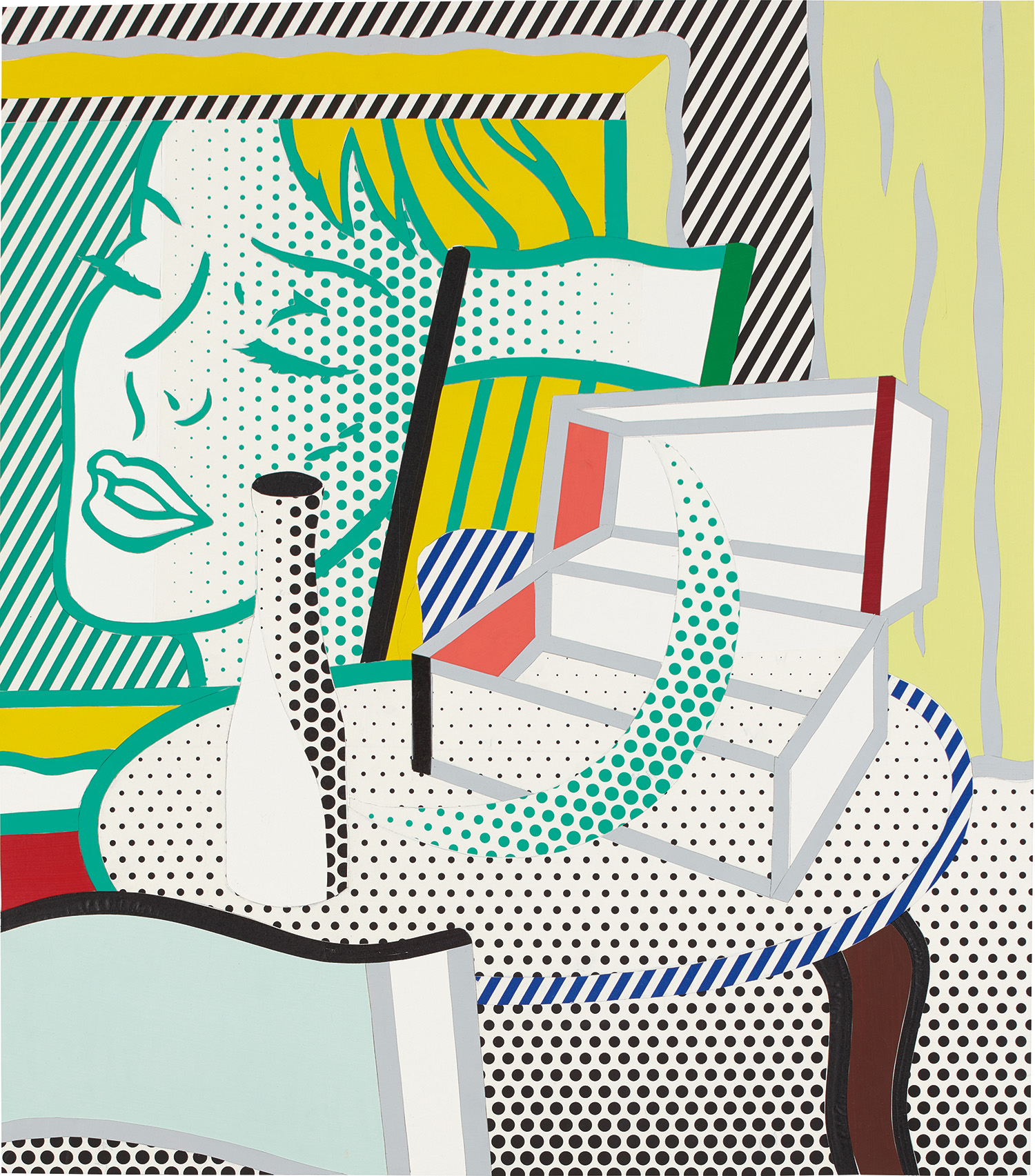 Roy Lichtenstein_Collage for Interior with Painting and Still Life.jpg